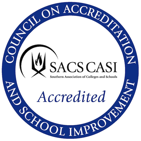 Obridge Academy is proudly accredited by SACS CASI, an accrediting division of AdvancED.